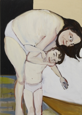 Chantal Joffe, Self-Portrait with Esme, 2009