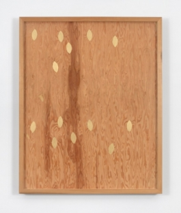 Sherrie Levine, Untitled (Gold Knot: 6), 1987