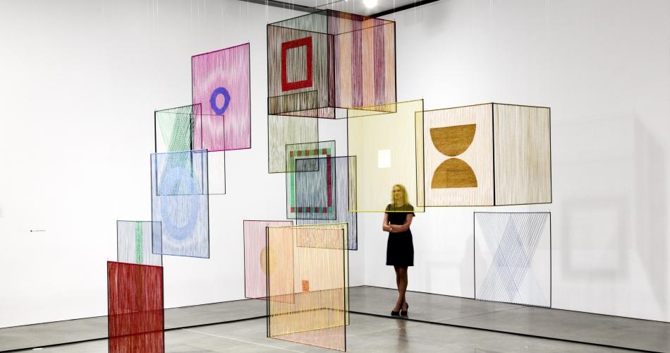 Elsi Giauque, Élément spatial (Spatial Element), 1979