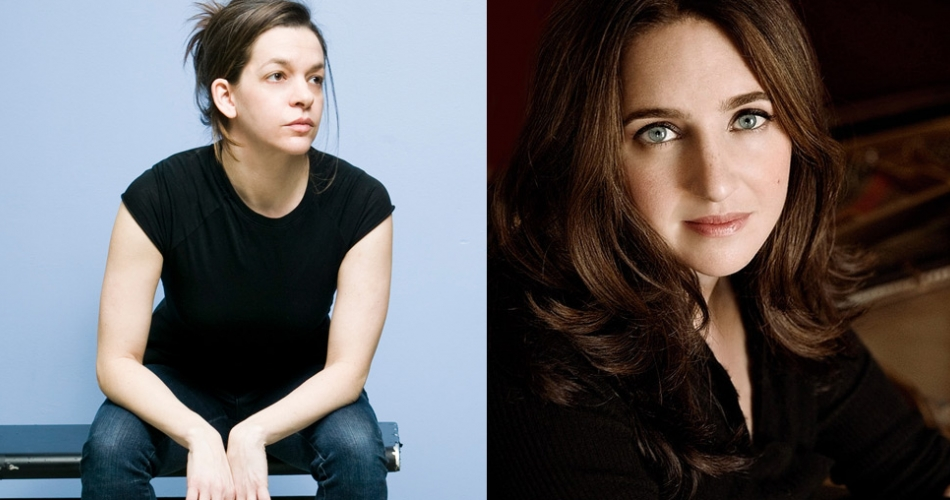 Portraits of Pam Tanowitz and Simone Dinnerstein