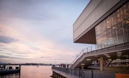 Sunset at the ICA