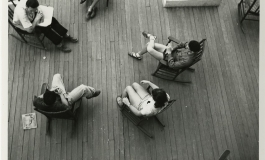 Black Mountain College, Students on the porch of Lee Hall