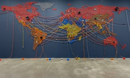 MIGRATION_Kallat installation view by Mel Taing