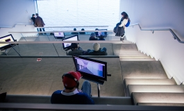 People in ICA Mediatheque