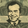 "Shepard Fairey ""Nixon Money,"" 2003"